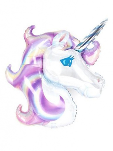 SuperShape - Pastel Unicorn Balloon - 32'' Foil