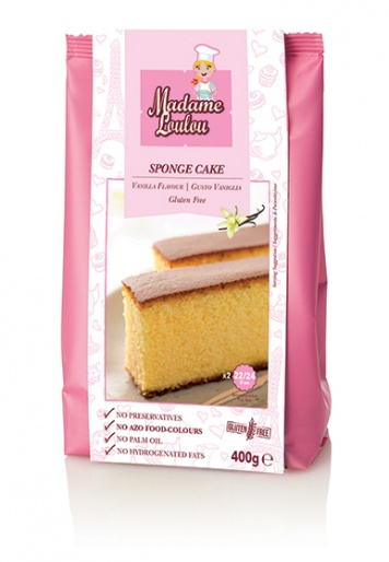 Madame Loulou - Sponge Cake Roll mix - Vanilla Flavour 400g