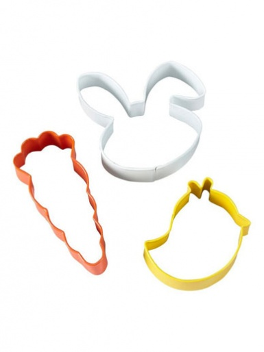 Wilton Cookie Cutters Set of 3 - Easter Whimsical