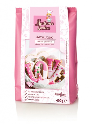 Madame Loulou - Royal Icing - White 400g