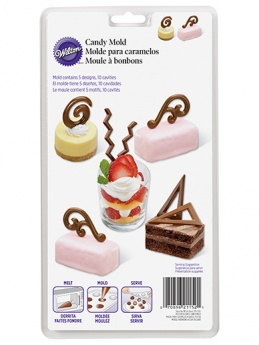 Wilton Candy Mould - Dessert Accents