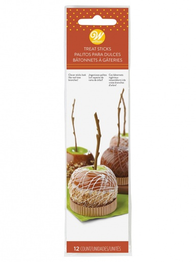 Wilton Caramel Apple Branch Sticks - Pack of 12