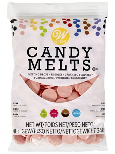 Wilton Candy Melts 340g (12oz) - Pink