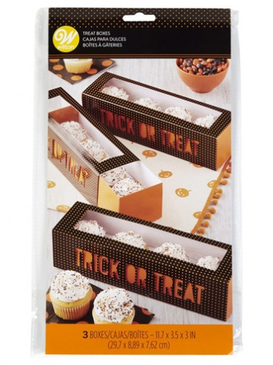 Wilton Slide Box - Pumpkin - Pack of 3