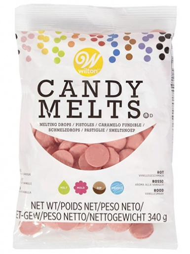 Wilton Candy Melts 340g (12oz) - Red