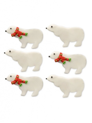 Winter Polar Bear Toppers