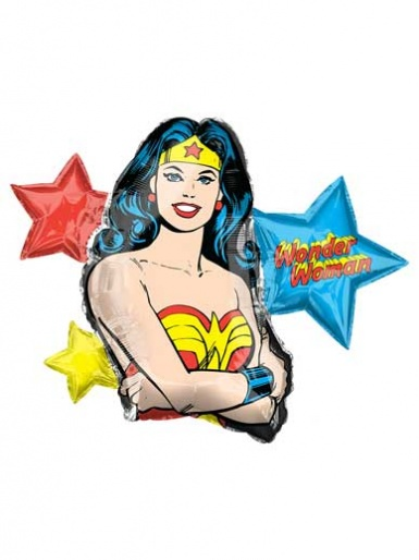 SuperShape - Wonder Woman Balloon - 33'' Foil