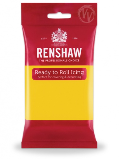 Renshaw Yellow Ready To Roll Icing