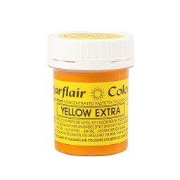 Sugarflair Spectral Paste - Yellow Extra (42g)