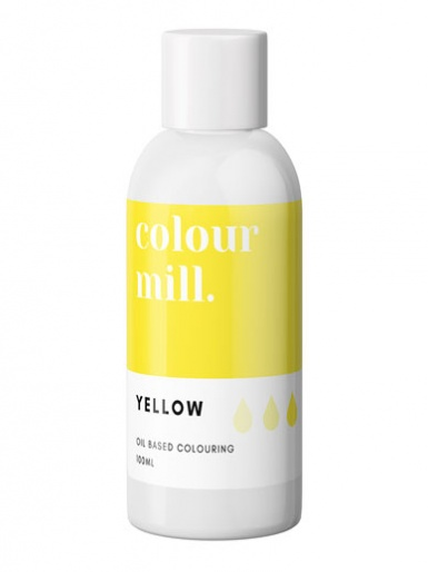 Colour Mill - Oil Based Colour - YELLOW 100ml