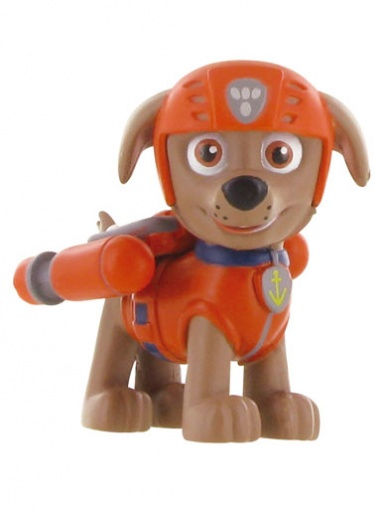 Zuma from Paw Patrol Figure Cake Topper (orange)