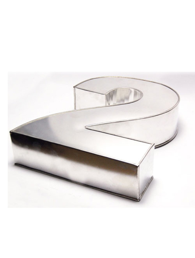 Small Number Two Cake Tin