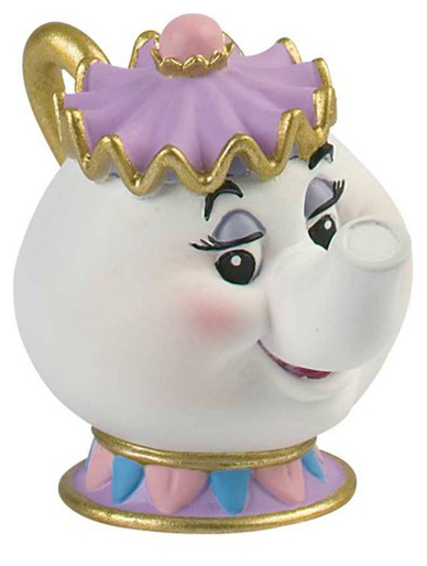 beauty and the beast cake topper mrs potts from quot and the beast quot cake topper 1622