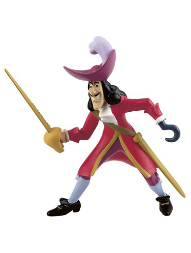 Captain Hook from ''Peter Pan'' - Cake Topper / Figurine
