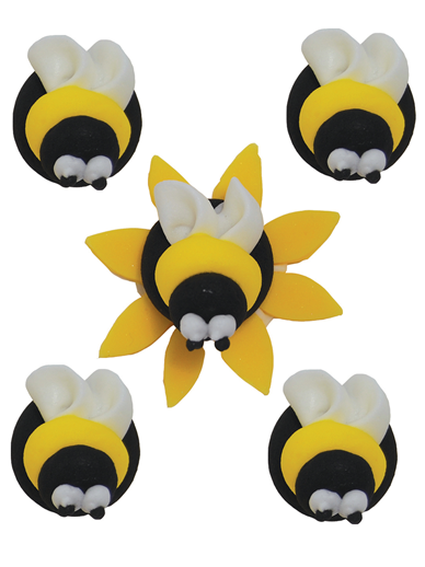 Bumblebee Edible Decorations