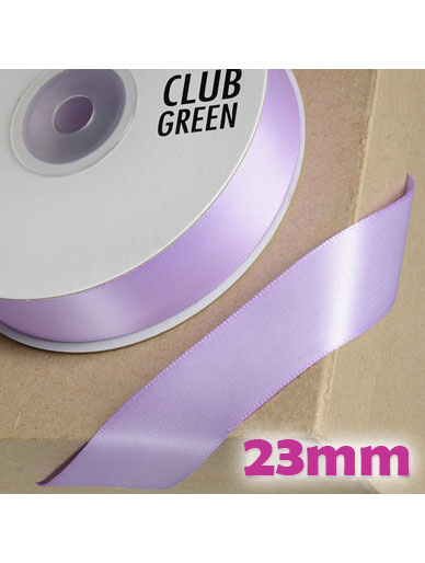 Double Sided Satin Ribbon 23mm - Lilac