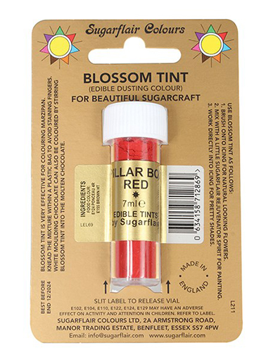 Sugarflair Blossom Tint - Pillar Box Red