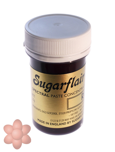 Sugarflair Spectral Paste - Dusky Pink