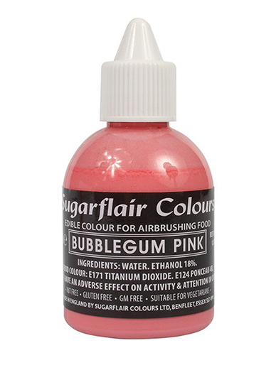 Sugarflair Airbrush Colour - Bubblegum Pink