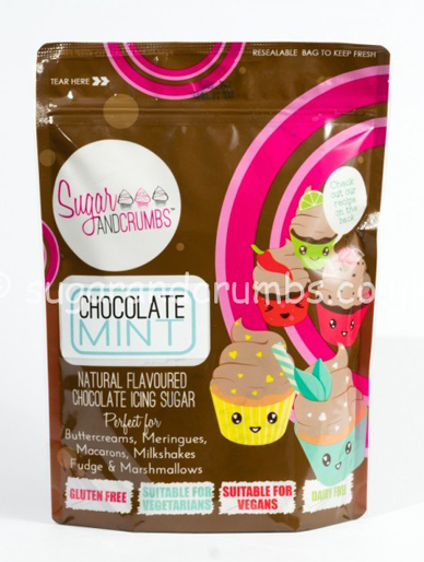 Chocolate Mint Icing Sugar 500g
