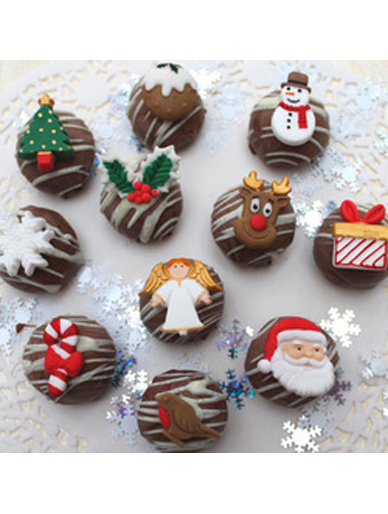 Katy Sue Mould - Christmas Embellishments