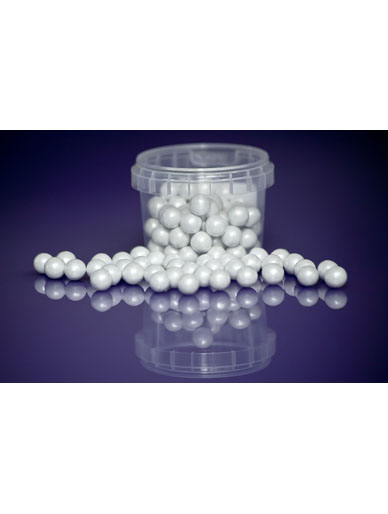Pearl White - Large Sugar Pearls 10mm - 80g