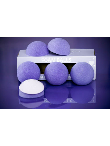 Foam Ball Halves (Set of 6) by Purple Cupcakes