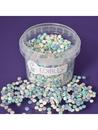 Shimmer Little Boy Blue Mix - Edible Confetti - 70g