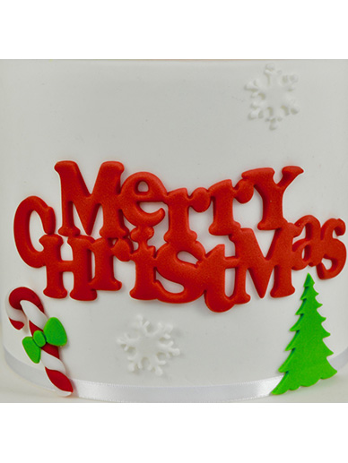 FMM Cutter - Curved Words - Merry Christmas
