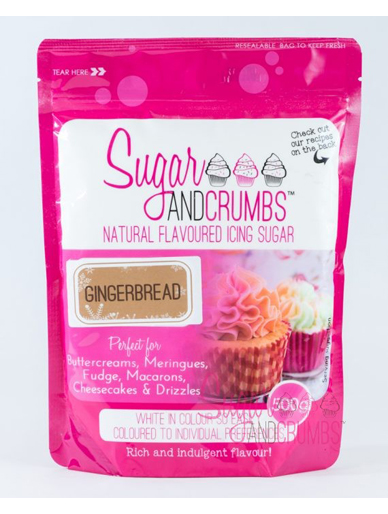 Sugar and Crumbs Gingerbread Flavoured Icing Sugar