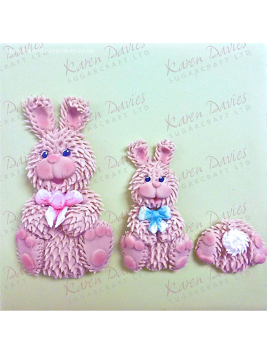 Easter Bunnies - Karen Davies Mould
