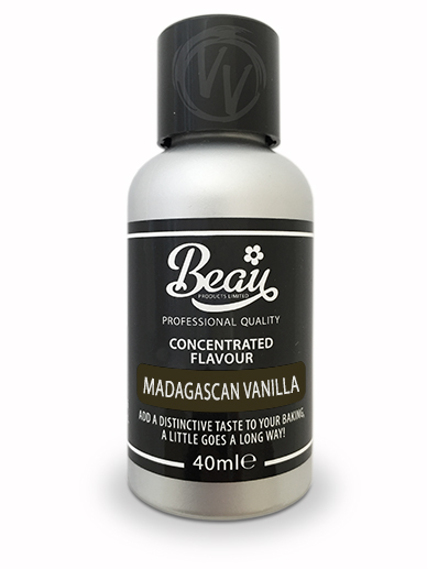 Madagascan Vanilla Concentrated Flavouring 40ml