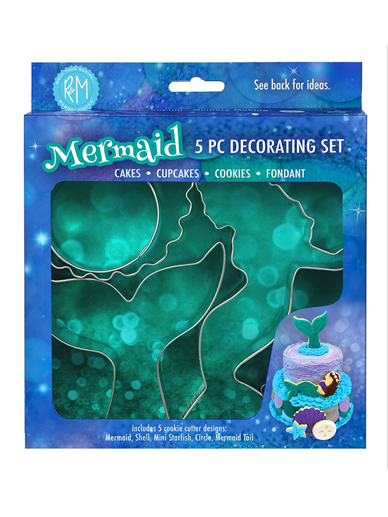 Mermaid Cutters Set of 5