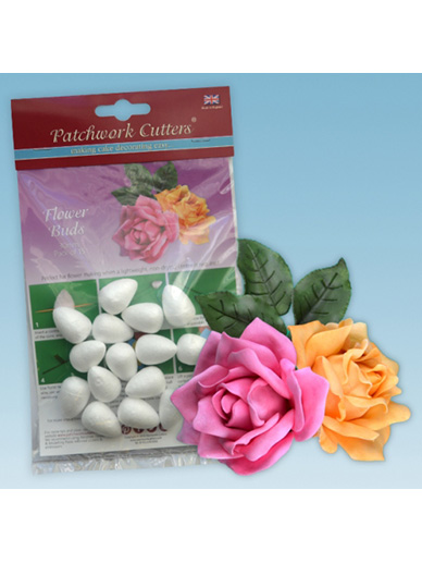 Patchwork Cutters Polystyrene Flower Buds - 30mm