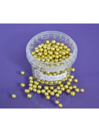 Gold Edible Balls 6mm