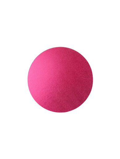 Round Thick Cake Board Drum - Cerise