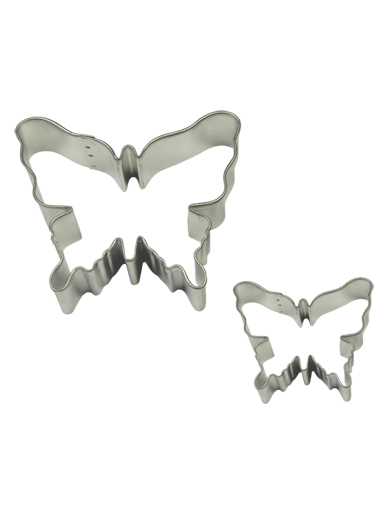 BUTTERFLY Cookie & Cake Cutter Set of 2