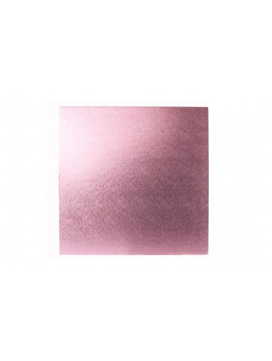 Square Thick Cake Board Drum - Pale Pink