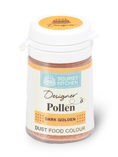 Squires Kitchen Designer Pollen Style Grains - Dark Golden