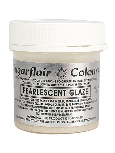 Sugarflair - Pearlescent Glaze 50g