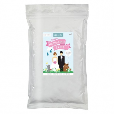 Squires - Sugar Modelling Paste - Snow White 1kg